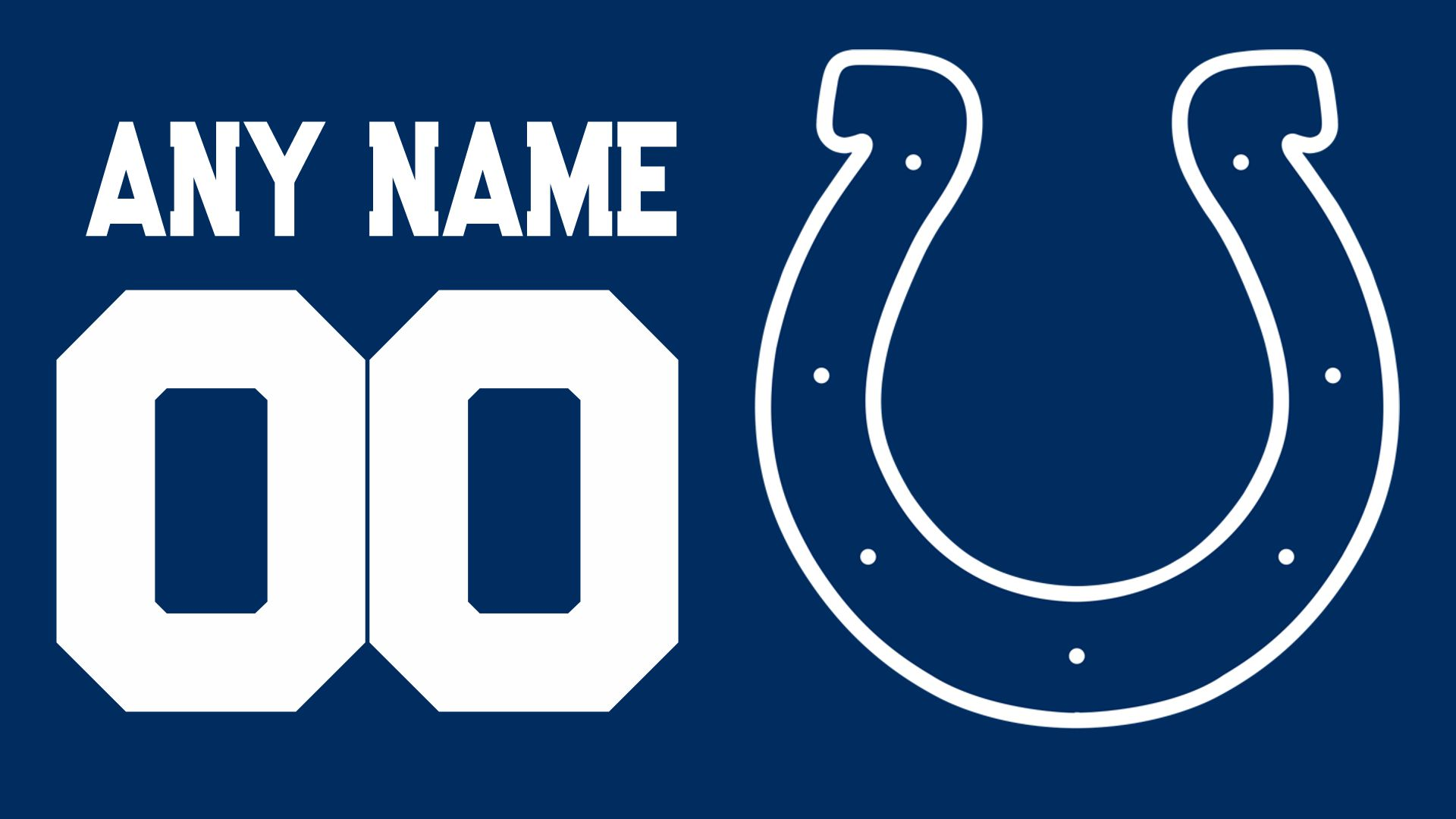 colts any Name Jersey Texture