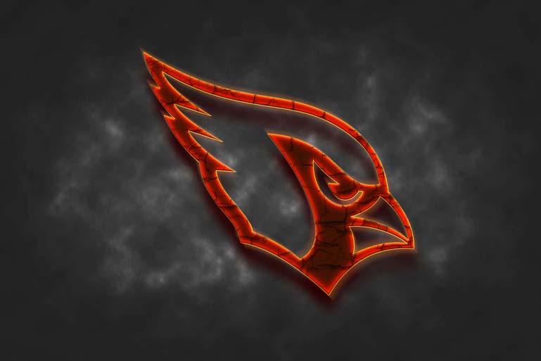 arizona cardinals fire logo effect