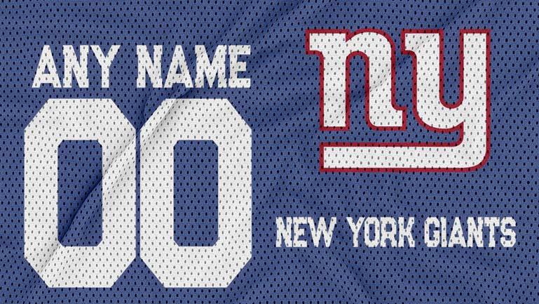 new york giants jersey texture logo