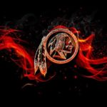 washington redskins burn fire effect
