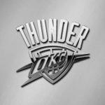 oklahoma city thunder chrome metallic