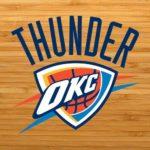 oklahoma city thunder court logo