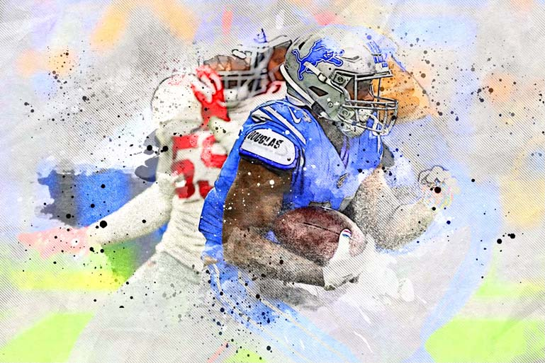 detriot lions image7art