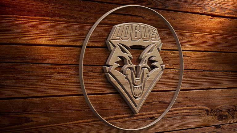 new mexico lobos carpenter logo