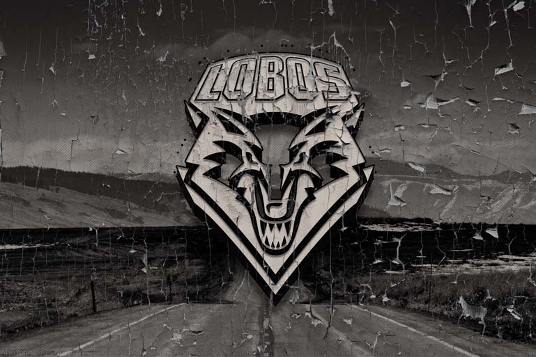 new mexico lobos retro