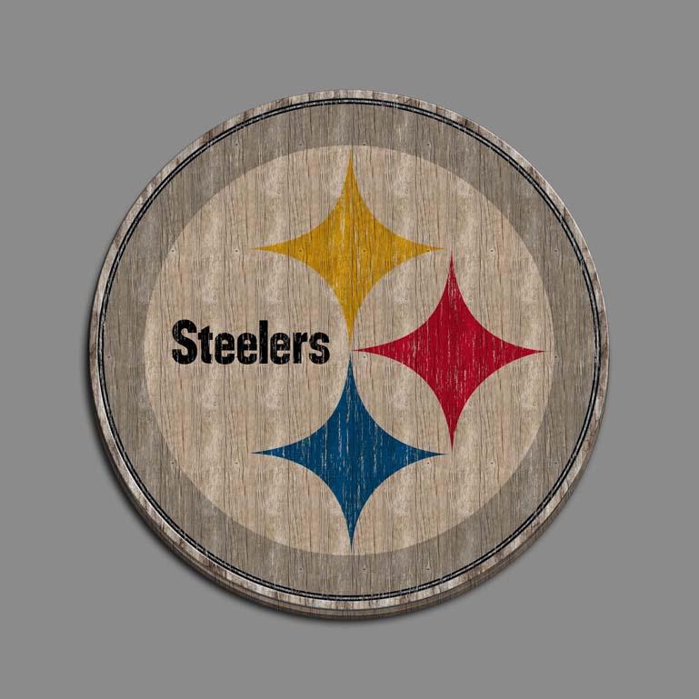 Pittsburgh Steelers wood